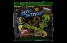 covrigei cu spanac Extraterestrul
